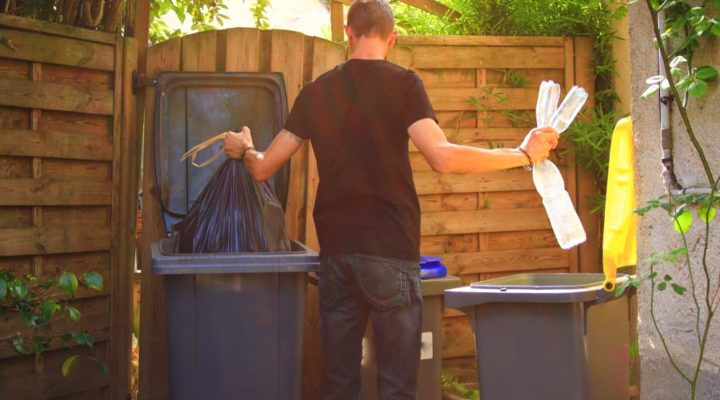 What household waste can be hazardous