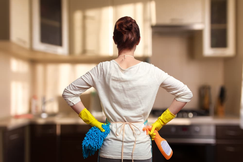 How do I emergency clean my home