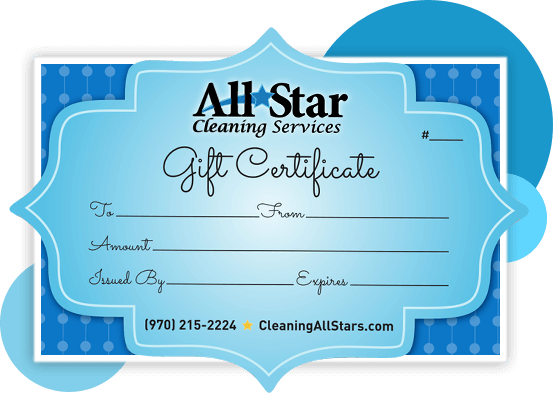 "Give the Ultimate Gift ""FREE TIME"" - All Star Cleaning Services"