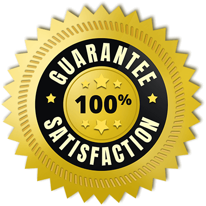 Guarantee 100% Satisfaction