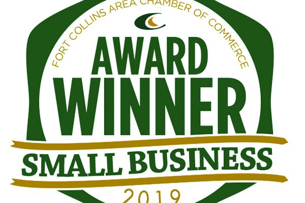 2019 Small Business of the Year Award Badge