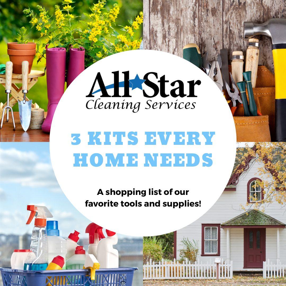 3 Kits Every Home Needs