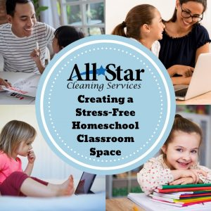Stress-Free Homeschool Classroom Space