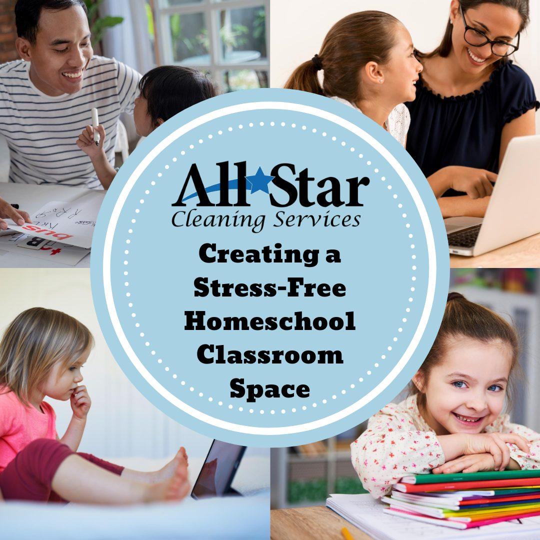 Stress-Free Homeschool Classroom Space