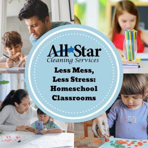 Less Mess, Less Stress: Homeschool Classrooms