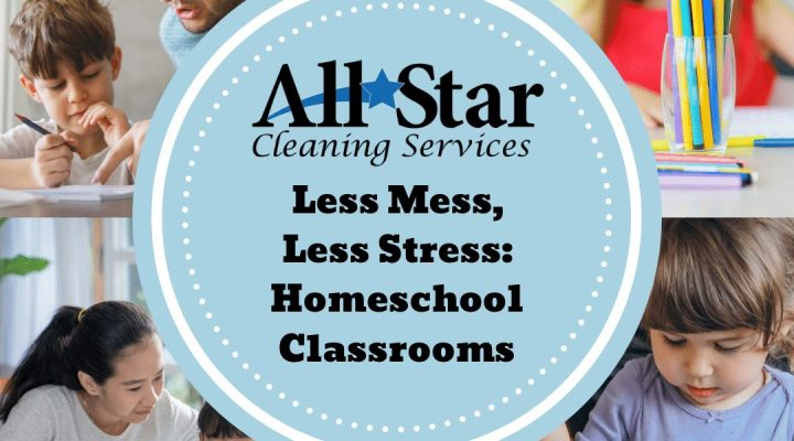 Less Mess, Less Stress: Homeschool Classrooms