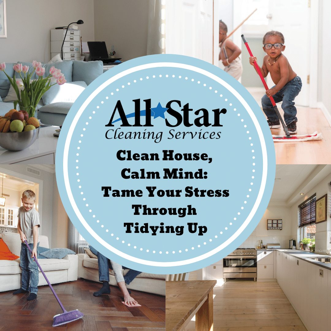Clean House, Calm Mind: Tame Your Stress Through Tidying Up