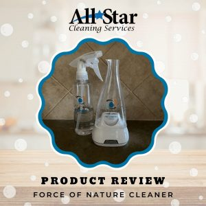 A Product Review of Force of Nature Cleaner