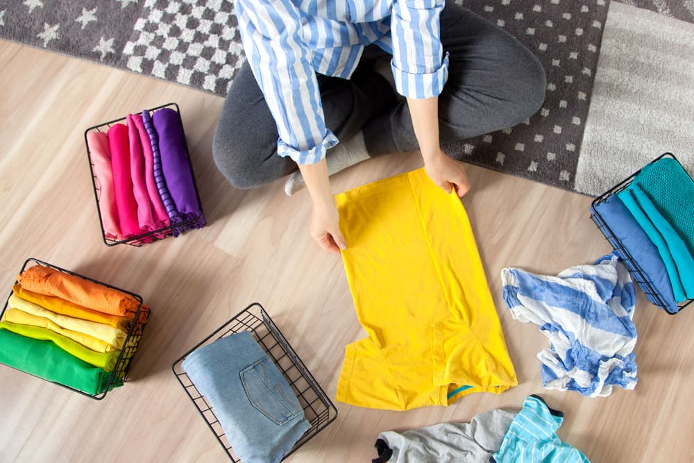 How can I calm my nerves by cleaning my home